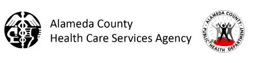 Alameda County Health Care Agency and Public Health logos